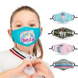 Covid 19 Children Mask Protective PM2.5 Filter mouth Mask anti dust Face mask bacteria proof Flu Mask Fast Delivery Kids Mask