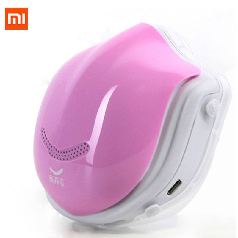 Covid 19 Xiaomi Mi Q5PRO 5V USB electric masks- anti-haze sterilizing provides active air breath valve HEPA filter face cover