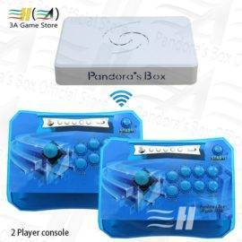 Pandora Box 6 1300 in 1 Wireless Arcade Sticks Controller 2 Players Joystick Arcade Control Panel can add 3000 games 3d Tekken