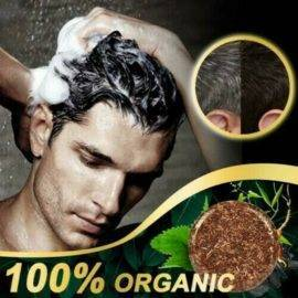 Hair darkening shampoo moisturizing and repairing natural gentle formula hair cleaning stick gray hair reverse soap essence