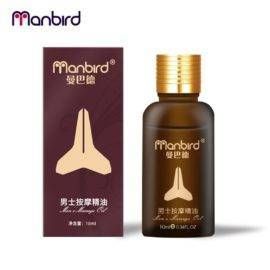 Manbird Men Herbal Penis Enlargement Cream Essential Oil Big Dick Increase Thickening Growth Ejaculation Penile Enlargment Pills