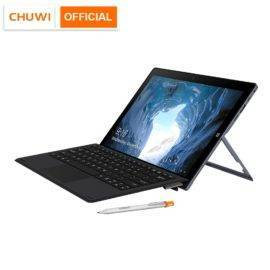 CHUWI UBook 11.6 Inch IPS Screen Tablet PC Intel Celeron N4120 Quad Core LPDDR4 8GB 256GB SSD Storage Windows 10 OS Tablet